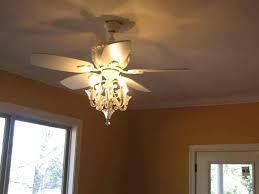 ceiling fan and chandelier