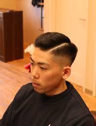 七三スタイルの次の髪型 茨城県北茨城市の男性専門のマンツーマン