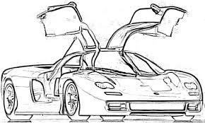 Koenigsegg Coloring Pages Color Bros
