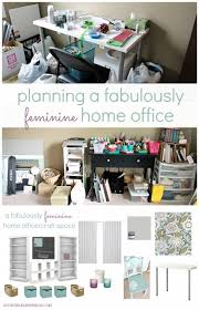 home office planning. Delighful Home Planning A Fabulously Feminine Home Office For