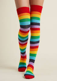 plus size thigh high socks printed socks tights in plus sizes modcloth