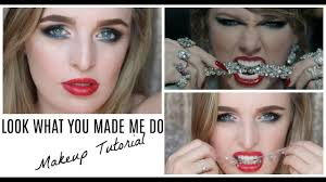 taylor swift look what you made me do official make up tutorial