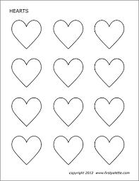 Free heart mandala coloring page printable. Hearts Free Printable Templates Coloring Pages Firstpalette Com