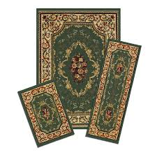 photo 2 of 9 capri rose garden 3 piece area rug set attractive area rugs and runner sets
