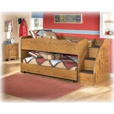 embrace loft bed with caster and left steps. ashley furniture collcetion for kid | signature design stages twin loft caster bed embrace with and left steps