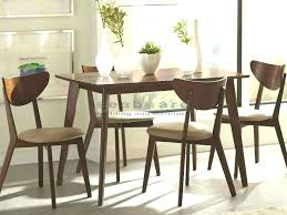 mid century dining table stylish and retro this mid century dining table set 5 are wood chairs modern