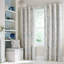 Lined Bedroom Curtains Duck Egg Laila Lined Eyelet Curtains Dunelm House Pinterest