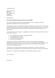 Awesome Collection Of Cover Letter Format New Zealand In Cover