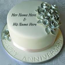 30110792 Best Ever Happy Wedding Anniversary Cakes With Name Happy