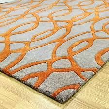 burnt orange and grey area rugs gray rug amazing in black orange gray rug black and grey