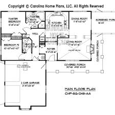 small country ranch house plan chp sg 1248 aa sq ft affordable small home plan under