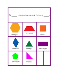 KINDERGARTEN GEOMETRY ACTIVITIES - Edmath 3