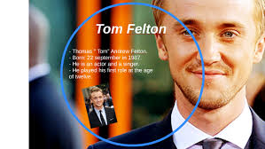 He is an english film actor, television actor, musician & television director. Tom Felton By Corinna H