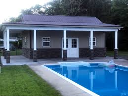 view larger image small pool house ideas