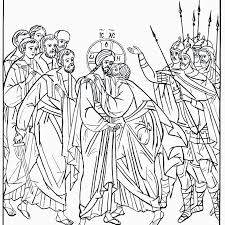 Last Supper Coloring Page The Last Supper Coloring Page For Super