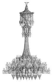 chandelier clipart silhouette 54352