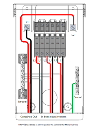 ac disconnect wiring diagram ac image wiring diagram midnite solar mnpv6 disconnect combiner box ac on ac disconnect wiring diagram