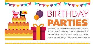 Children Birthday Invitations Kids Birthday Parties Kids Birthday Party Bricks 4 Kidz