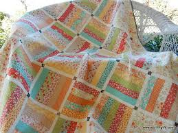 Make an Easy and Lovely Quilt from a Jelly Roll - Quilting Digest & Dreamin' Jelly Roll Quilt Pattern Adamdwight.com