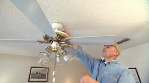 how to fix an out of balance paddle ceiling fan