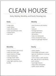 Master Cleaning List Printable Inspiring Ideas Haushalt