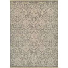 elegance lorelei grey tan 8 ft x 11 ft area rug