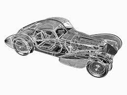 But there is one model for which they are especially appropriate: 1933 1938 Bugatti 57sc Atlantic Coupe Top Speed
