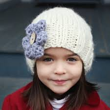 Child Knit Hat Pattern Simple Slouchy Hat Knitting Pattern PDF Knitting Pattern Easy Knit