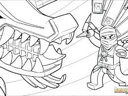 Ninjago Golden Dragon Coloring Pages Lego Dragons Opulent Awesome