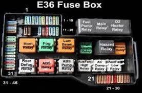 similiar bmw i fuse box keywords medium bmw e36 fuse box diagram on 1997 bmw