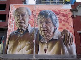 >grandparents by smug in melbourne streetartnews streetartnews deansunshine landofsunshine melbourne streetart street art news smug 1