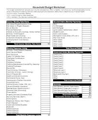 Construction Budget Excel Home Template Household Expense