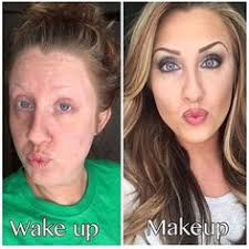 dark brows makeup before and after younique presenter power of makeup beauty