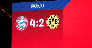 Sixty goals in 60 games. Three Observations From Bayern Munich S Thrilling 4 2 Victory Against Borussia Dortmund Bavarian Football Works