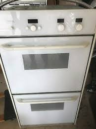 thermador double oven white ct227nw