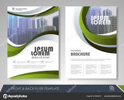 Design Brochure Template Modern Green Brochure Design Brochure Template Brochures