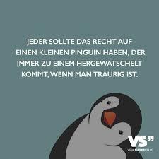 Jeder Sollte Das Recht Auf Einen Kleinen Pinguin Haben Der Immer Zu