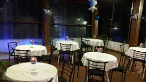 round table dining area in party hall mint masala party hall photos infantry road