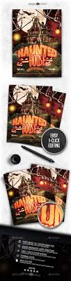 17 best images about design cloud flyers events ux haunted house flyer template