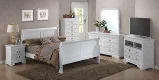 Louis Bedroom Furniture Louis Philippe A Full Set White Full Size B2nsdrmrch 3190a