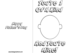 Get my favorite easy craft and recipe ideas. Free Printable Fathers Day Card The Typical Mom