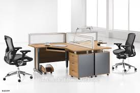 Executive Curved Workstation 2 Person Office Desk Buy Intended For