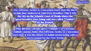 Black People Negroes Are The True Israelites YouTube
