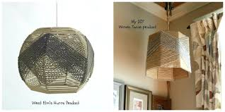 west elm inspired woven lampshade lamp shade nz twine pendant woven lampshade