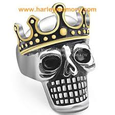 whole brand name snless steel biker skull rings of rings from china suppliers 159065289