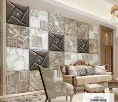 Paysota Mozaïek Luxe Glitter Behang Achtergrond Muur Shiny Goudfolie