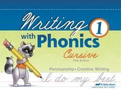 Writing With Phonics 1 Cursive