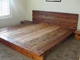 rustic platform bed. King Rustic Platform Bed 100% Cedar Wood. $2,200.00, Via Etsy. D