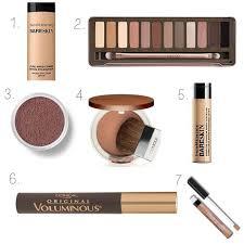 7 natural makeup necessities