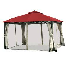 garden winds replacement canopy top cover for the windsor dome gazebo cinnabar com